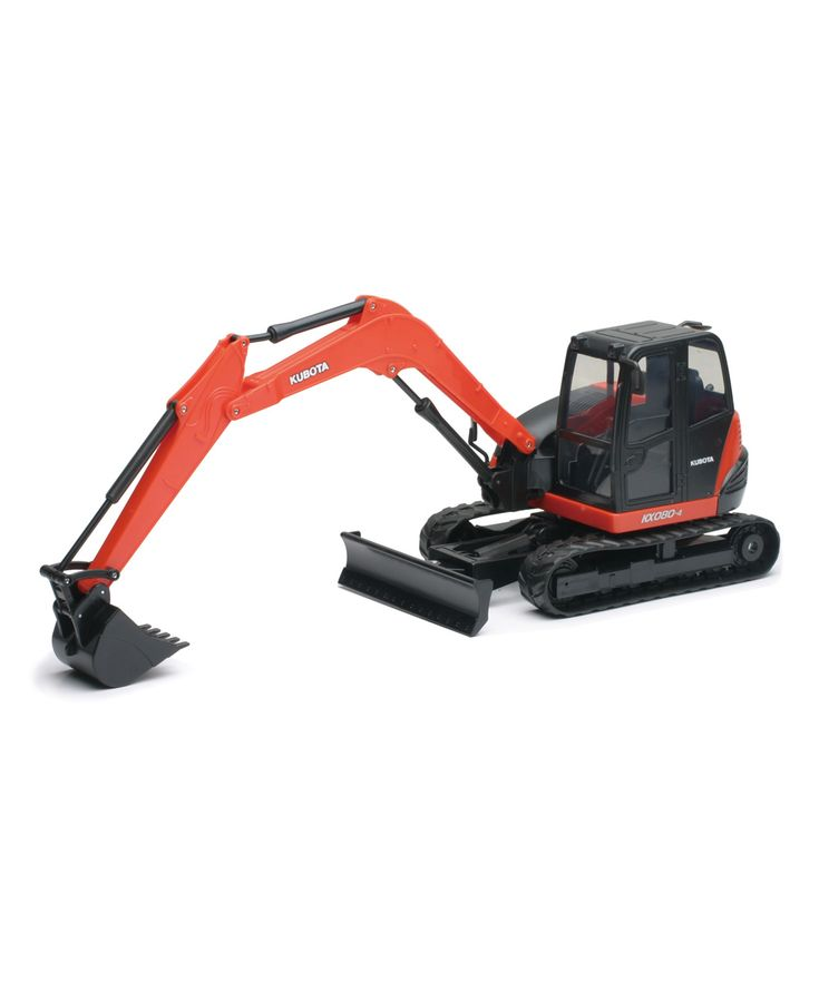 Kubota Excavator Toy