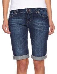 edc by ESPRIT Damen Jeans Short Normaler Bund, 042CC1C001