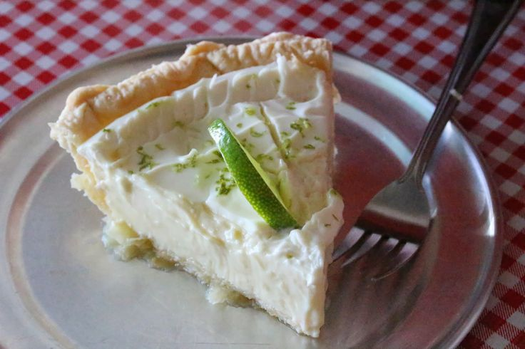Key lime pie from The Upper Crust Pie Bakery in Overland ...
