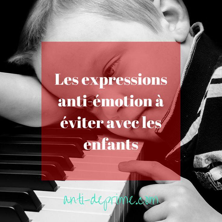 Les émotions sont utiles à nos existences. Apprendre à les identifier, à leur faire confiance et à les exprimer est essentiel pour mener une vie épanouie. Cet apprentissage débute dès l'enfance.