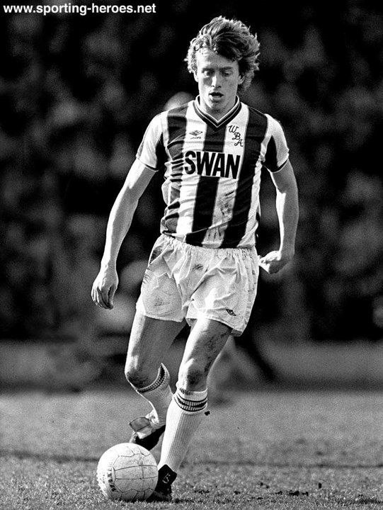 Tony Morley - West Bromwich Albion FC