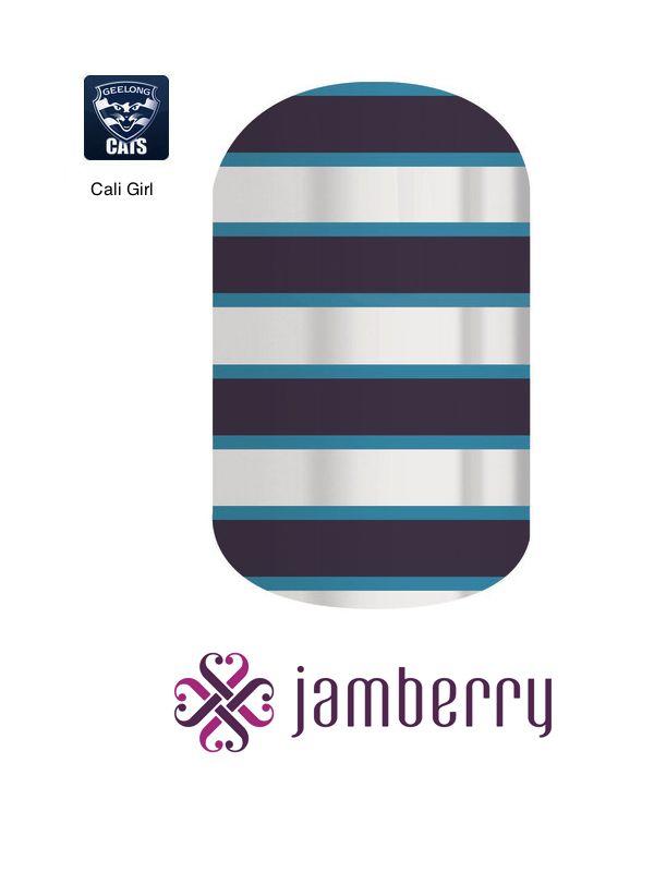 Jamberry Cats Inspiration - Cali Girl