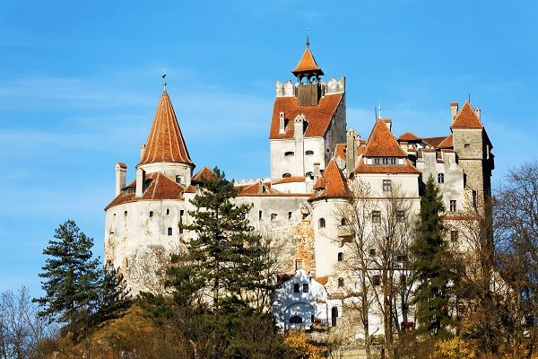 Transylvania is known for its stunning castles, but none are more famous than Bran Castle. Built in 1377 in Bran, near Brasov, this gothic structure is associated with Vlad (Tepes) Dracul or Vlad the Impaler, a 15th-century prince, who was the inspiration for Bram Stoker's Dracula.