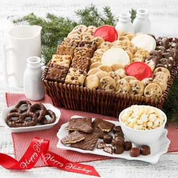 Mrs. Fields® Deluxe Holiday Cookie Gift Basket. See more gifts at www.pro-gift-baskets.com!