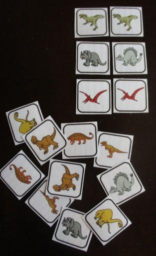 Les dinosaures : accessoires pour activités préscolaires - Les éditions Boîte à Surprises