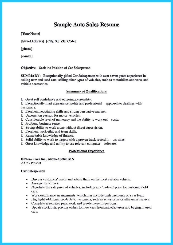 Download Sales Resume Samples aploon