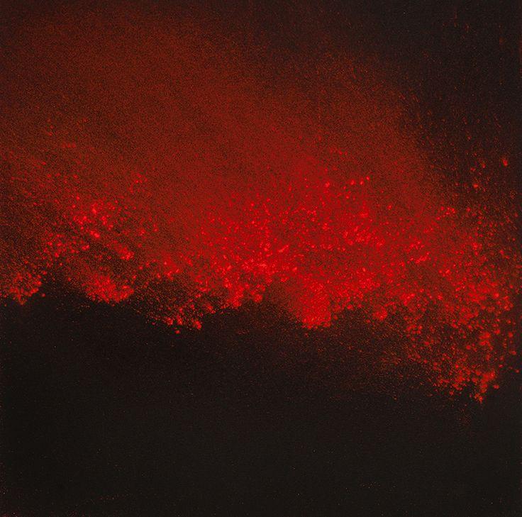 arpeggia - Lita Albuquerque- Red Pigment Paintings,...