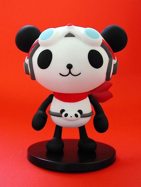 Mega House Panda-z figure: Pantaron