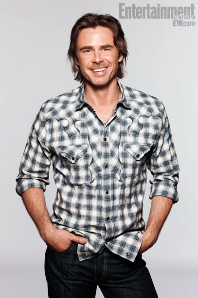 Sam Trammell aka Sam Merlotte from True Blood. I met him at Wizard World Con in June and he's just as nice as he is handsome.