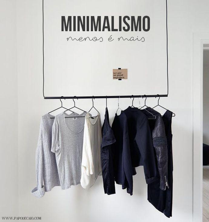 Não estava a fim de trazer o minimalismo como tendência para este começo de 2017, mas definitivamente é um movimento atemporal que se fir...