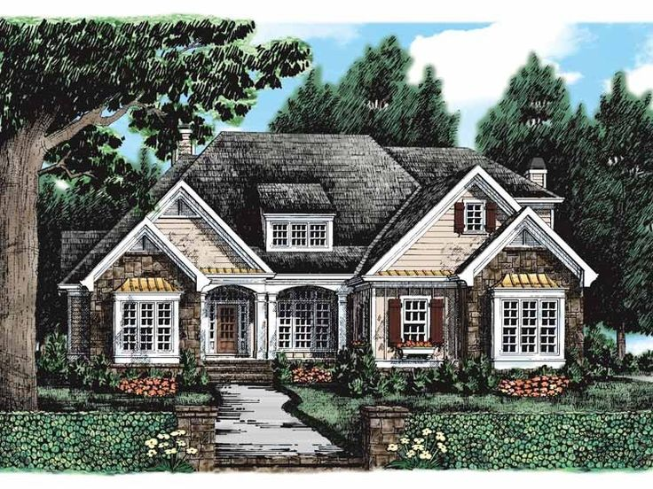 5158 best images about be it ever so humble on pinterest for French country garage plans