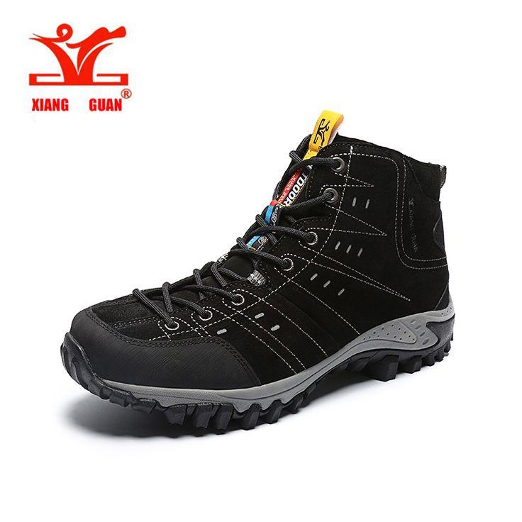 XIANGGUAN Brand Hiking Shoes For Men & Women Waterproof Hiking Sneakers Durable Man Outdoor Sport Shoes #9799