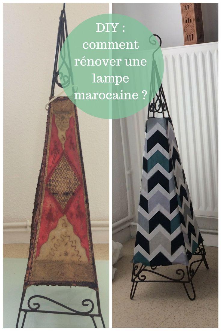Diy comment rénover une lampe marocaine