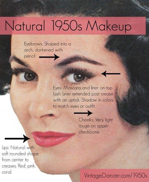 17 Best ideas about 50s Makeup on Pinterest | 1950 makeup, Office makeup and vintage Makeup