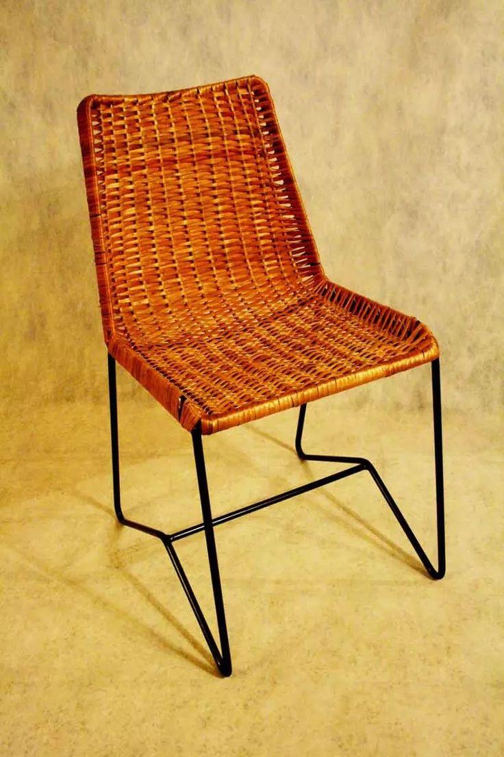 M s de 25 ideas incre bles sobre sillas de mimbre en for Sillas mimbre comedor