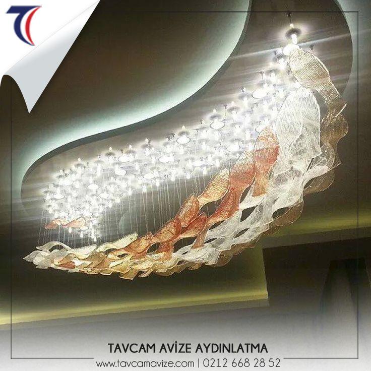 Profesyonel ellerle hazırlanan avizeler odalarınıza ışık saçacak.🔅 www.tavcamavize.com  #tavcamavize #aydınlatma #şıkavize #modernavize #elsanatı #camavize