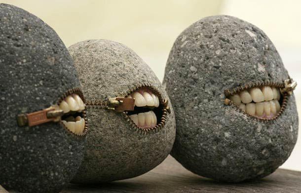 Les incroyables sculptures de pierre d'Hirotoshi Ito