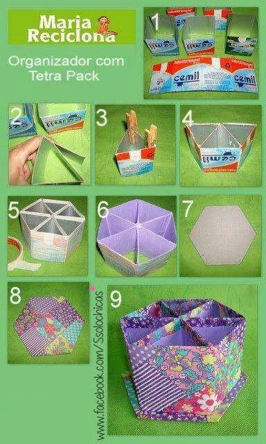 =) Para organizar lápices de colores, pinceles y un montón de cosas más.