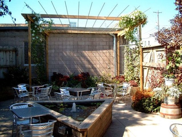Marvelous Milwaukee Bars With Patios | ... Bar Space Soon Become Blue Jacket Also Has  A Patio Photo Triangle Bar | Outdoor Lighting Design | Pinterest |  Triangles And ...