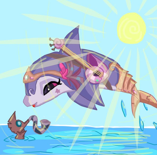 Did anyone know that there is a dolphin Alpha? Welp, there is. If they have n Alpha, at least make them into at LEAST one of the adventures! Right? Idk this