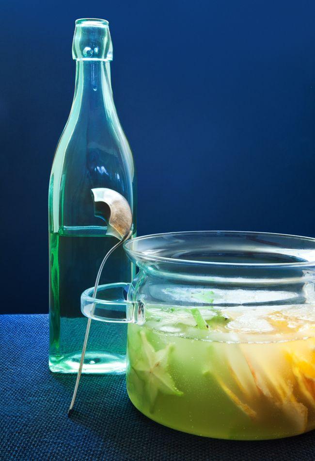 Clericot verde | #ReceitaPanelinha: Refrescante, lindo e saboroso. Este clericot é fácil, fácil de fazer e uma delícia de beber.
