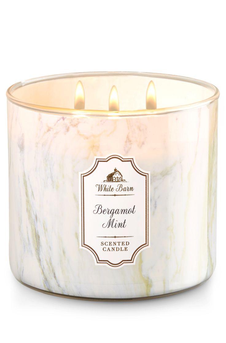 Bergamot Mint 3-Wick Candle - Home Fragrance 1037181 - Bath & Body Works