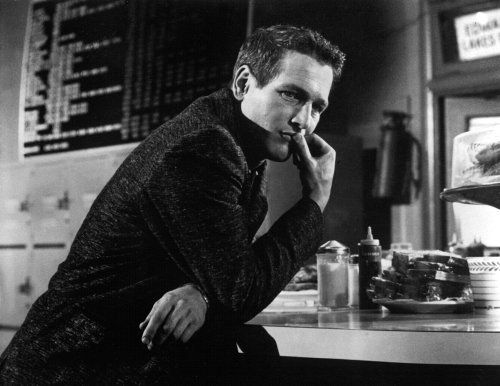 Still of Paul Newman in The Hustler