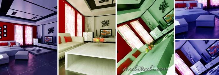 Desain | Interior | Ruang Keluarga | Minimalis