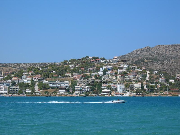 Porto Rafti, Greece. I miss living here.