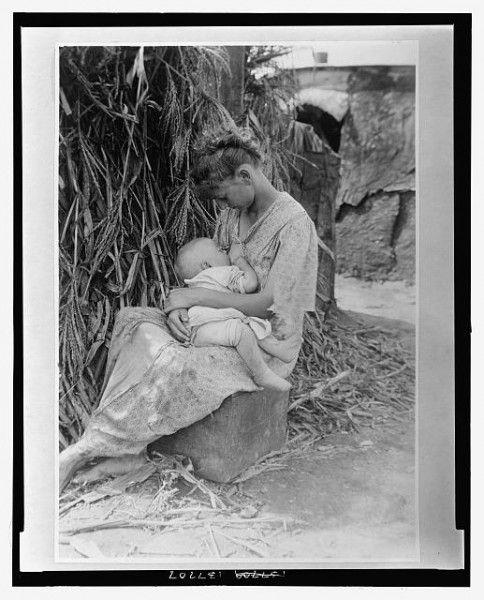 """The Cornstock Madonna,"" c1916, Illinois, Library of Congress."