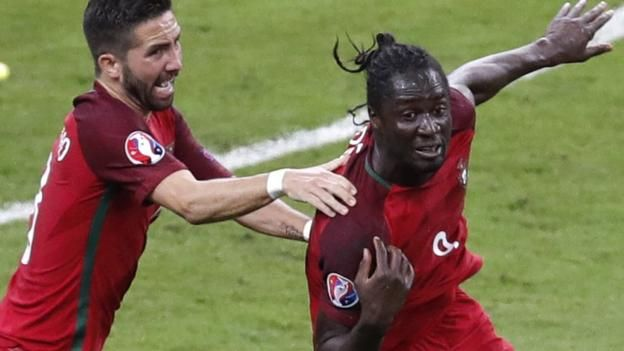 Euro 2016 final: Eder scores extra-time winner for Portugal - BBC Sport