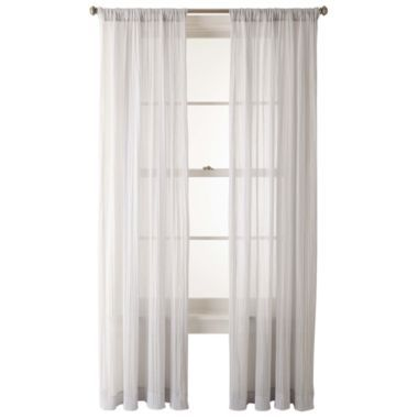 Jcpenney Home Collection Sheer Curtains Panels