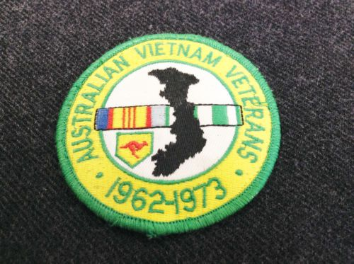 Australian Vietnam Veterans 1962 - 1973 Embroidered Cloth Patch RAAF Wedgetail ?