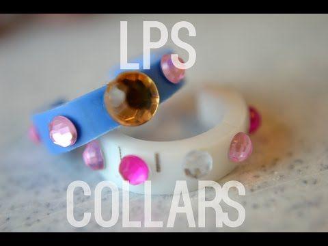 LPS: DIY COLLARS 2 - YouTube