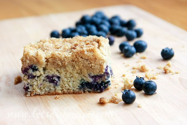 This blueberry crumb cake is unbelievably good, considering the simple ...