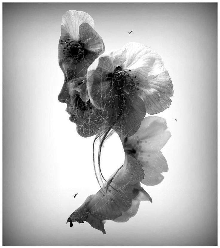 Stunning Double Exposure Photography by Nevess #inspiration #photography