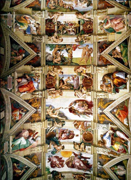 Michelangelo's Sistine Ceiling 1508-1512