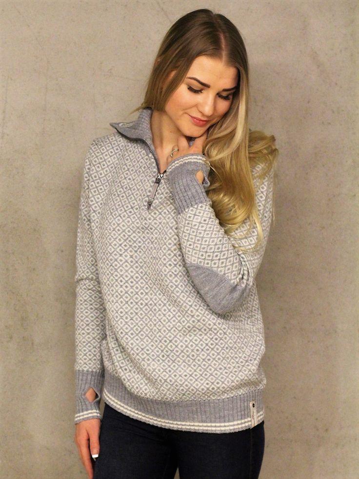 Devold Slogen Sweater Zip Neck.       Str XS