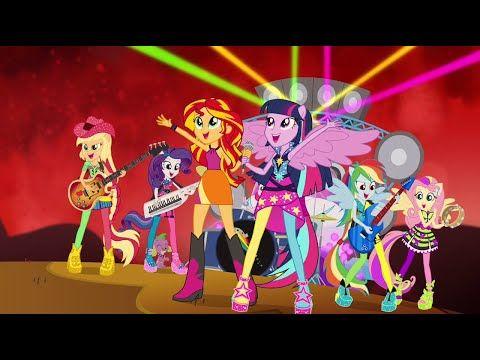 Bienvenido Al Show - MLP: Equestria Girls - Rainbow Rocks! [Español Latino] - YouTube