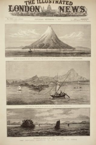 Mt. Karakatau explosion in August 27, 1883. 36,000 victims. it was change the world climate. so scary...