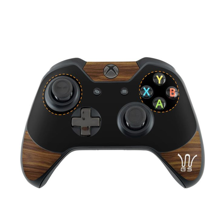 Microsoft Xbox One Controller Skin - Wooden Gaming System by DecalGirl Collective | DecalGirl