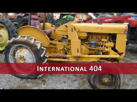 This tractor has been dismantled for International 404 tractor parts.  #International #IH #tractor #parts
