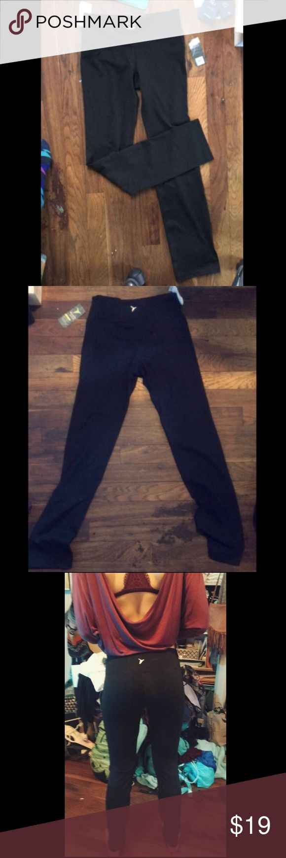 Black Athletic Leggings! Bought from old navy for $26, NWT! I have the same exact pair and they are so comfortable, and durable. They don't tear like cheap leggings will, and they compliment your figure very nicely! Patagonia Pants Leggings