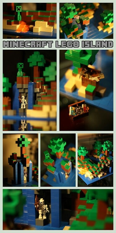 64 best Ethan's Minecraft Lego party images on Pinterest | Birthday ...