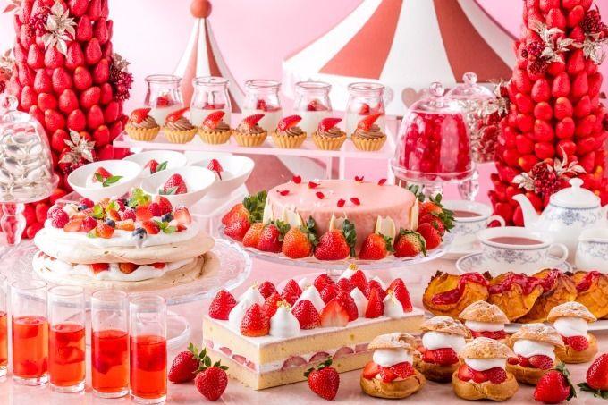 ヒルトン小田原リゾート&スパでは、 苺のデザートブッフェ「ラブリーストロベリー・ティーパーティ(Lovely Strawberry Tea Party)」を、2018年1月6日(土)~2月25日(日)...