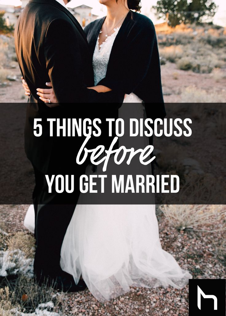 5 things to discuss before you get hitched - Daily Hive