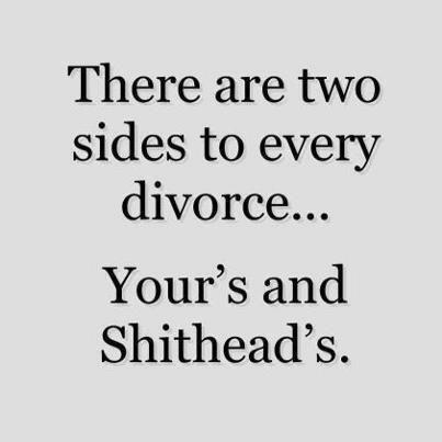 LMFAO  Divorcing a narcissist