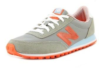 New Balance Wl410 Women Round Toe Synthetic Gray Sneakers.