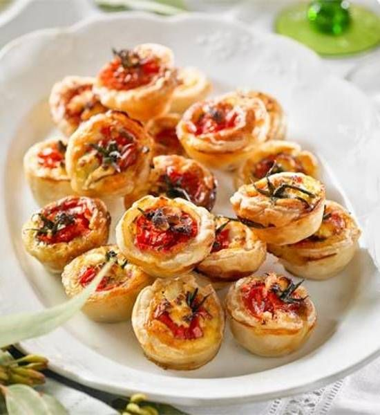 Roast tomato, goat's cheese and caramelised onion quiches recipe - Better Homes and Gardens - Yahoo!7