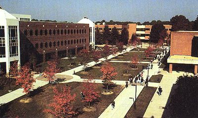 George Mason University Campus | The heart of the George Mason campus.